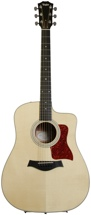 Taylor 210ce-K Dreadnought - Cutaway, Electronics, Natural K