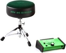 Porter & Davies BC Gigster Drum Throne - Round Seat