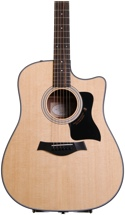 Taylor 310ce Dreadnought - Cutaway, Electronics, Natural
