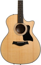 Taylor 314ce Grand Auditorium - Natural with Cutaway and ES Pickup