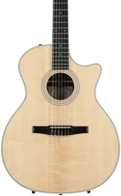 Taylor 414ce-Grand Auditorium, Nylon String - Rosewood Back and Sides