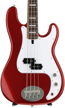 Lakland Skyline 44-64 Custom - Candy Apple Red, Rosewood