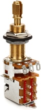 Emerson Custom Pro CTS Push Pull Potentiometer - 500K Ohm Long Split Shaft