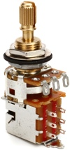 Emerson Custom Pro CTS Push Pull Potentiometer - 500K Ohm Short Split Shaft