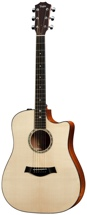 Taylor 510ce Dreadnought - Cutaway, Electronics, Natural