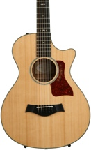 Taylor 552ce 12-Fret Grand Concert Acoustic-Electric w/Cutaway, Natural