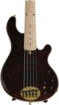 Lakland 55-94 Deluxe, Exotic Top - Curly Redwood with Maple fingerboard