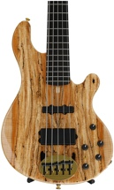 Lakland 55-94 Deluxe, Exotic Top - Spalted Maple with Ebony fingerboard