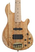 Lakland 55-94 Deluxe, Exotic Top - Spalted Maple with Maple Fingerboard