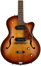 Godin 5th Avenue CW Kingpin II - Cognac Burst