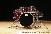 DW Collector's Finish Ply Series 5-Piece Kit - Red Velvet