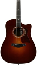 Taylor 710ce Indian Rosewood Dreadnought - Vintage Sunburst w/Cutaway and ES System