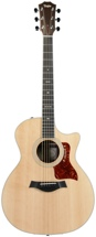 Taylor 714ce Grand Auditorium - Cutaway, Electronics, Natural