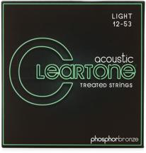 Cleartone 7412 EMP Phosphor Bronze Acoustic Guitar Strings - .012-.053 Light
