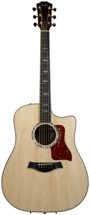 Taylor 810ce Dreadnought - Natural, Cutaway