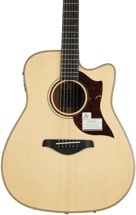 Yamaha A3M Dreadnought Acoustic Electric with Cutaway - Solid Mahogany Back and Sides