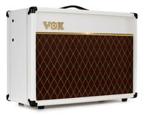 "Vox AC15 Custom Limited White Bronco - 15W 1x12"" Guitar Combo Amp"