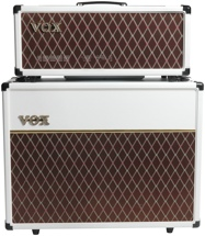 "Vox AC15C Head with Matching 2x12"" Cabinet - Limited White Bronco"