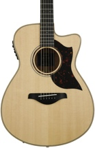 Yamaha AC3M Concert Acoustic Electric with Cutaway - Solid Mahogany Back and Sides