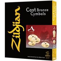 Zildjian A Custom 4 Pack Matched Set