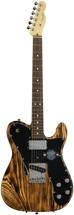 Fender American Design Telecaster - Burnt Natural Satin
