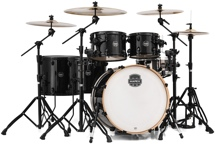 Mapex Armory 6-piece Studioease Fast Tom Shell Pack - Transparent Black