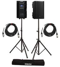 PreSonus Air12 Speaker Pair with Stands and Cables