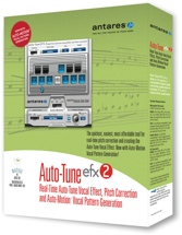 Antares Auto-Tune EFX 2 Plug-in (boxed)