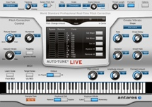 Antares Auto-Tune Live Real-Time Pitch Correction and Vocal Effect Plug-in (Boxed)