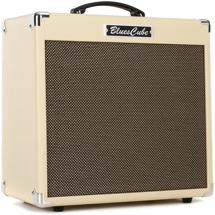 review the roland blues cube hot 30 watt 1x12 combo amp vintage blonde sweetwater. Black Bedroom Furniture Sets. Home Design Ideas