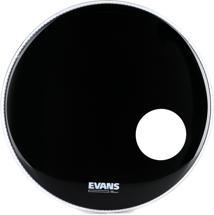 Evans EQ3 Black Resonant Bass Drum Head - 20