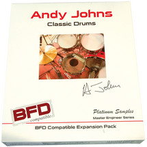 Platinum Samples Andy Johns Classic Drums