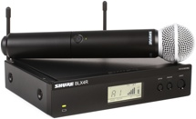 Shure BLX24R/SM58 Handheld Wireless System - H9 Band