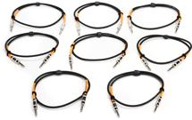 Pro Co BP-3, 8-Pack Excellines Balanced Patch Cable - 3'