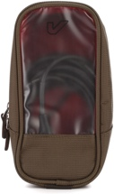 Gruv Gear Bento Utility Case, Full/Tall, Pewter/Crimson
