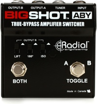 Radial BigShot ABY A/B-Y True-Bypass Switch Pedal