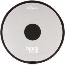 RTOM Black Hole Snap-on Mesh Practice Pad - 14""