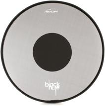 "RTOM Black Hole Snap On Mesh Bass Drum Practice Pad - 20"""