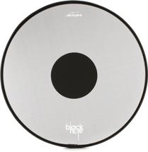 RTOM Black Hole Snap-on Mesh Bass Drum Practice Pad - 24""