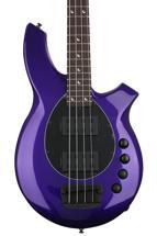 Ernie Ball Music Man Bongo 4 HH - Firemist Purple