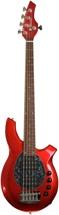 Ernie Ball Music Man Bongo 5 HH - Cardinal Red Sparkle