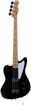 Fender Custom Shop Limited La Cabronita Boracho Bass - Black, Heavy Relic
