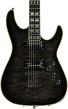 Schecter C-1 Custom - See-Thru Black