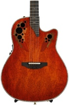 Ovation Elite Plus Contour - Orange Burst Karelian