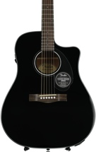 Fender CD-60SCE Dreadnought - Black