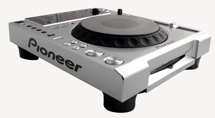 Pioneer DJ CDJ-850 Multi-format Media Player - Silver
