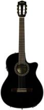 Fender CN-240SCE Thinline - Black