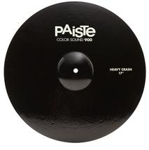 "Paiste 900 Series Colorsound Heavy Crash - 17"" - Black"
