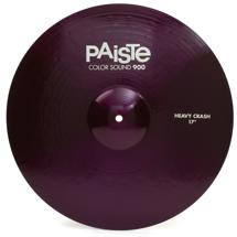 "Paiste 900 Series Colorsound Heavy Crash - 17"" - Purple"