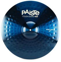 "Paiste 900 Series Colorsound Heavy Ride - 20"" - Blue"